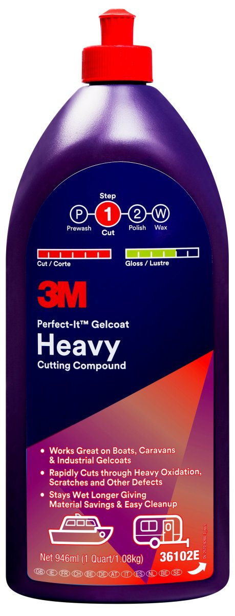 ™ Perfect-It™ Gelcoat Heavy Cutting Compound 946 ml