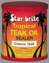 Tropical Teak Oil Sealer Classic Teak 473ml